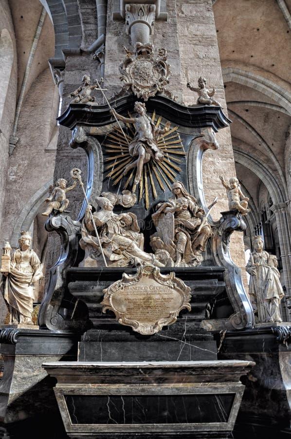 Luxembourg staty royaltyfria bilder