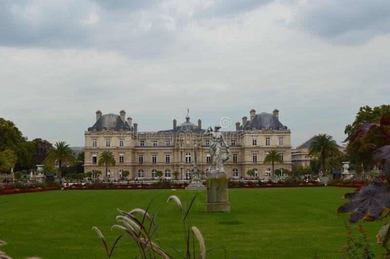Luxembourg trädgårdar royaltyfri fotografi