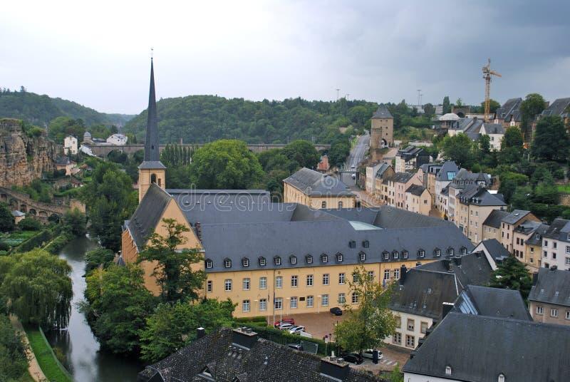Luxemburg stockbild