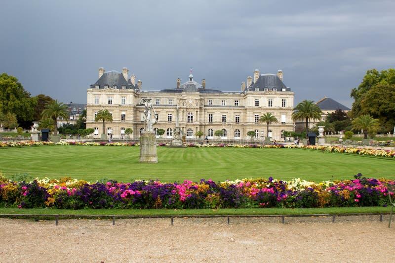 Luxemburg-Gärten in Paris lizenzfreies stockfoto