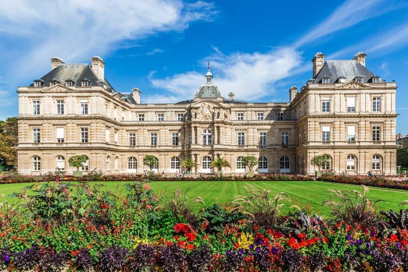 Luxemburg-Palast lizenzfreie stockbilder