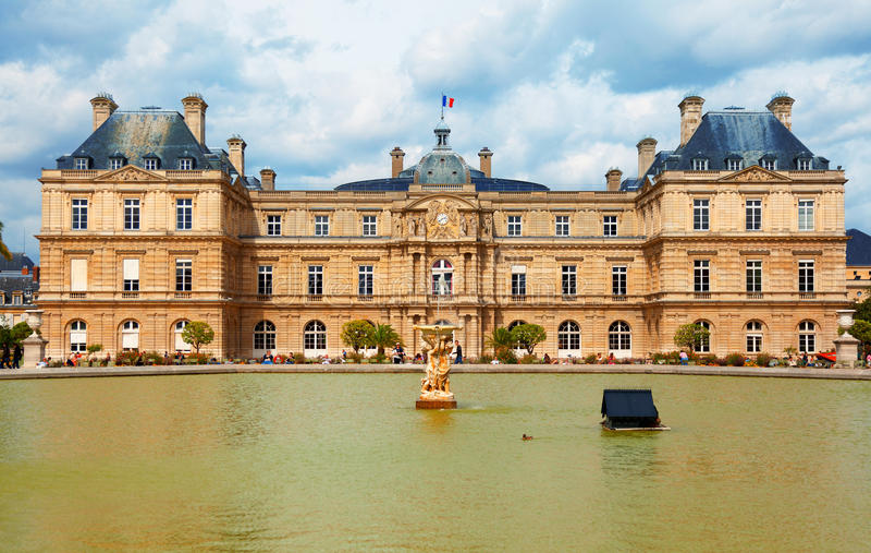 Luxemburgo cultiva un huerto, París imágenes de archivo libres de regalías