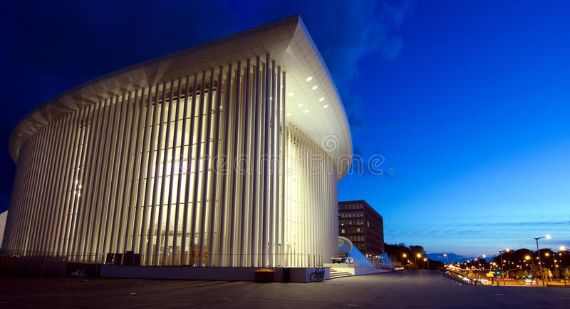 Luxemburgo - filarmônico imagens de stock royalty free