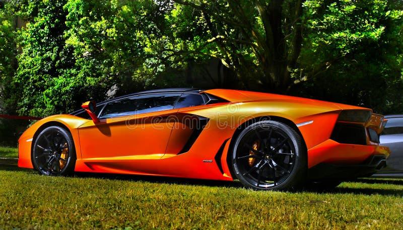 Luxesportwagens royalty-vrije stock foto's