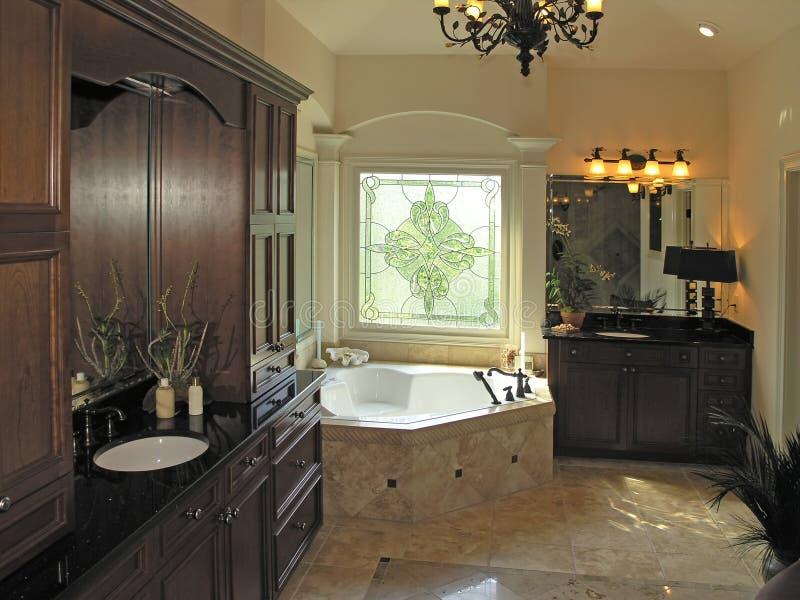Luxo 7 - quarto 1 do banho imagem de stock royalty free