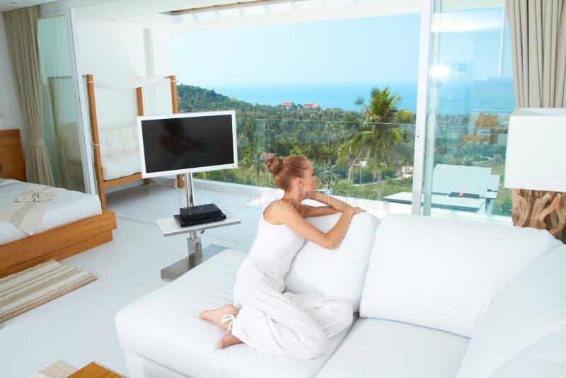 Luxo de um estilo de vida tropical foto de stock royalty free