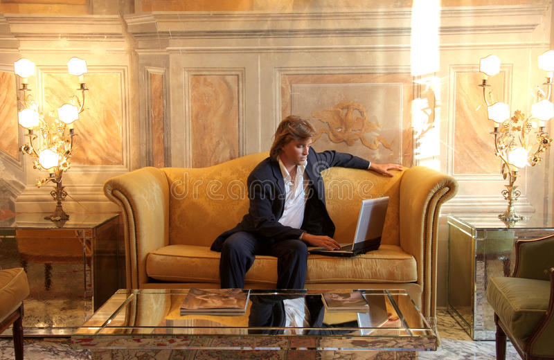 Luxo e negócio foto de stock royalty free