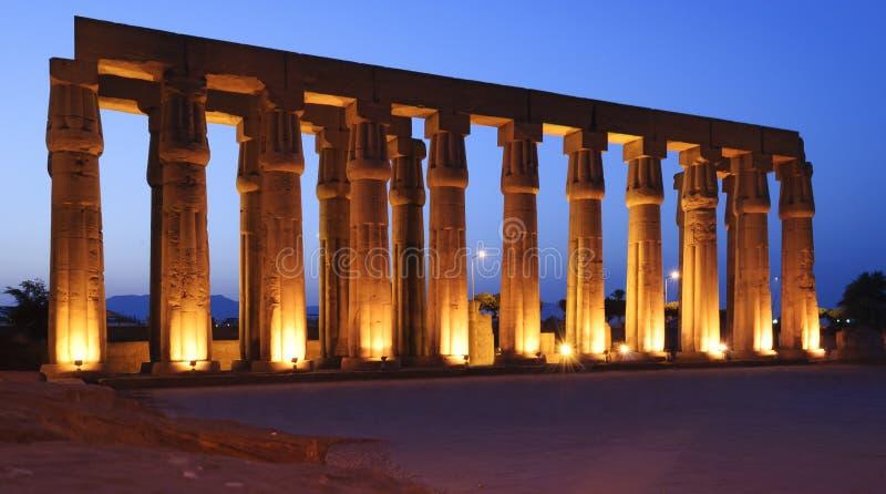 Luxor royaltyfri bild