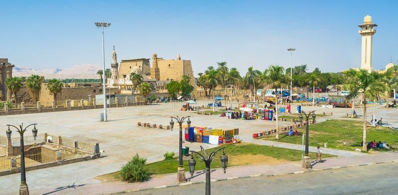 Luxor royaltyfri foto