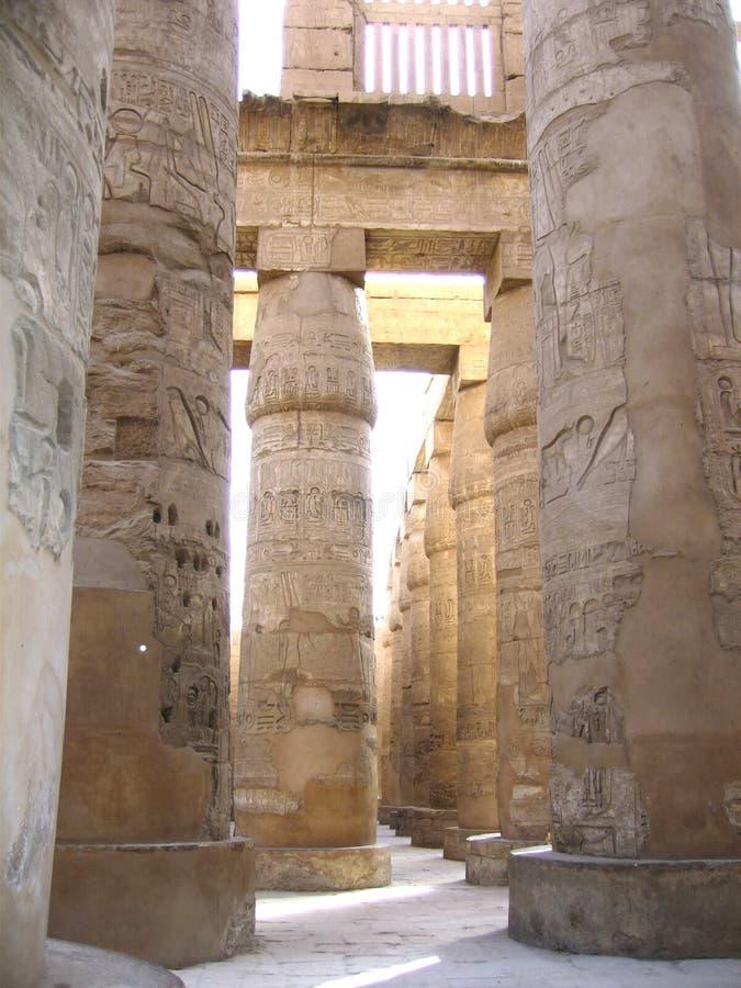 Luxor, Egypte stock afbeelding