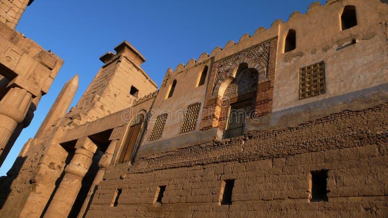 Luxor. Egypten arkivfoto