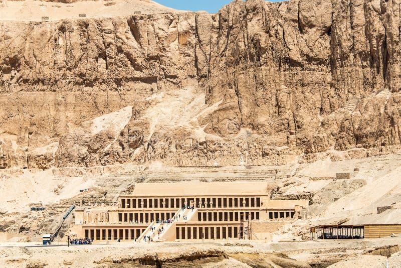 Luxor ?gypten 18 05 2018 der antike Tempel des weiblichen pharao Hatchepsut nahe Luxor in ?gypten stockbild