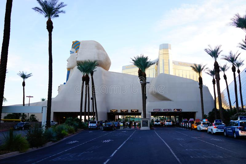 The Luxor Hotel & Casino 5. He pyramid at Luxor Resort in Las Vegas, with its beam of light, provides a striking visual even on the overtly glamorous Las Vegas stock image