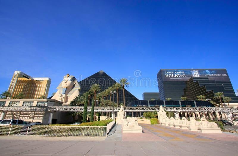 Luxor hotel i kasyno w Las Vegas, Nevada zdjęcia royalty free