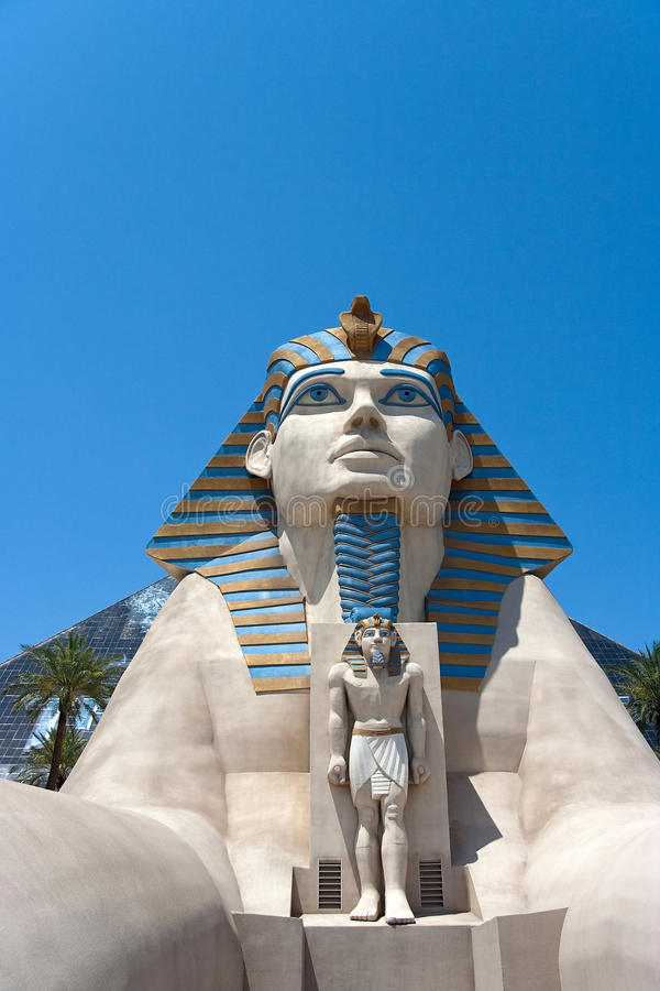 Download Luxor Hotel Sphinx editorial photography. Image of sphynx - 19995392