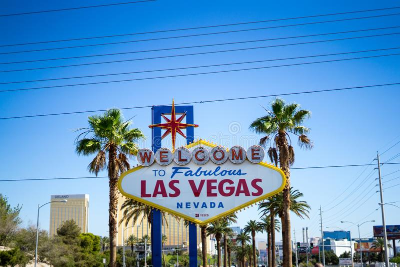 Luxor in las vegas. Las Vegas Strip, Las Vegas, Nevada, the United States: 06/06/2018 royalty free stock image