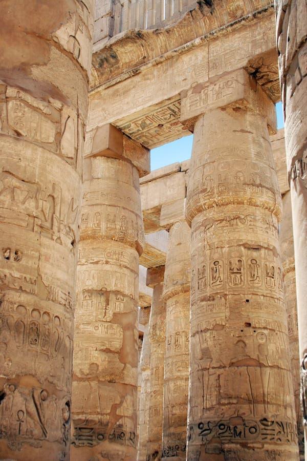 Luxor-Tempel lizenzfreies stockbild