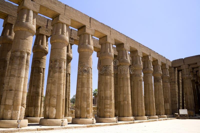 luxor tempel royaltyfri foto