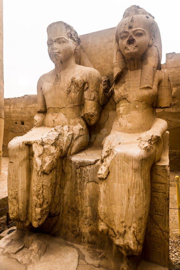 Luxor Temple, Karnak, Египет стоковые изображения rf