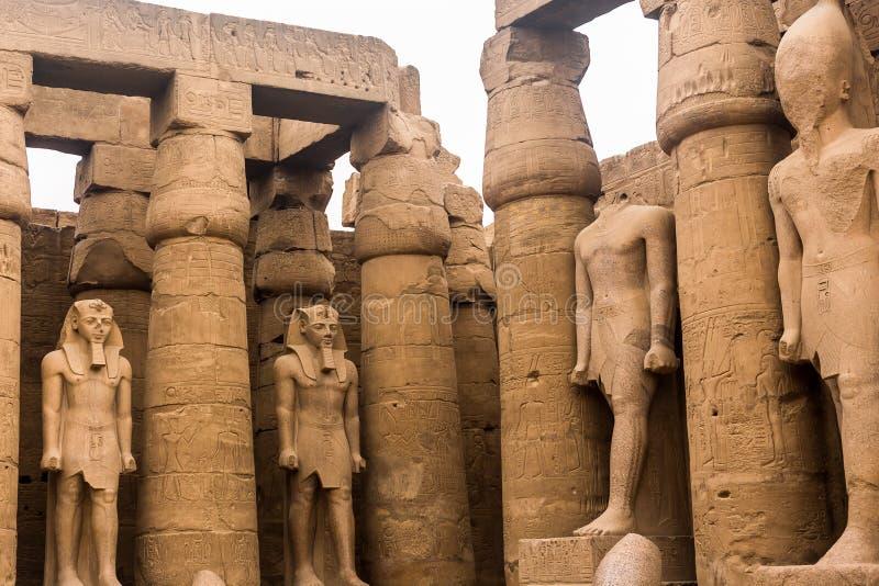 Luxor Temple, Karnak, Египет стоковые изображения