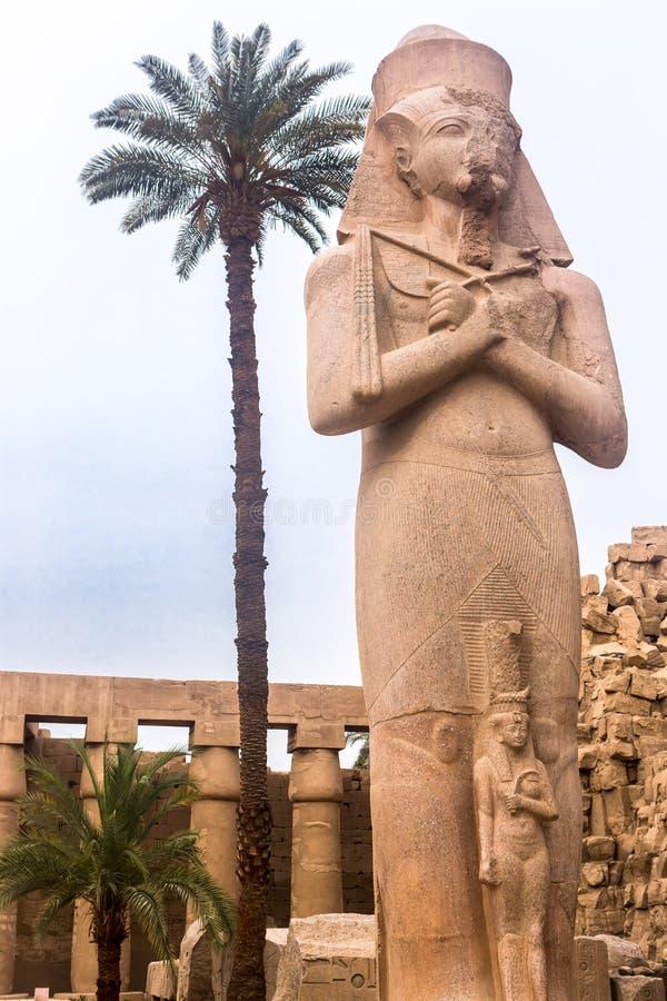 Luxor Temple, Karnak, Египет стоковая фотография