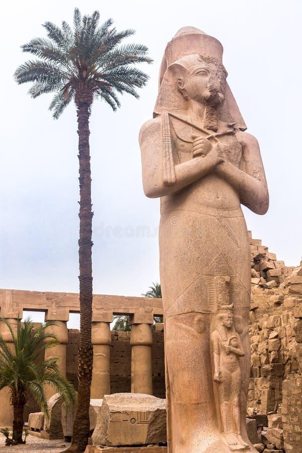 Luxor Temple, Karnak, Египет стоковое изображение