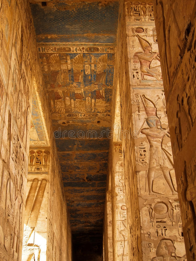 Luxor Temple pictures royalty free stock photo