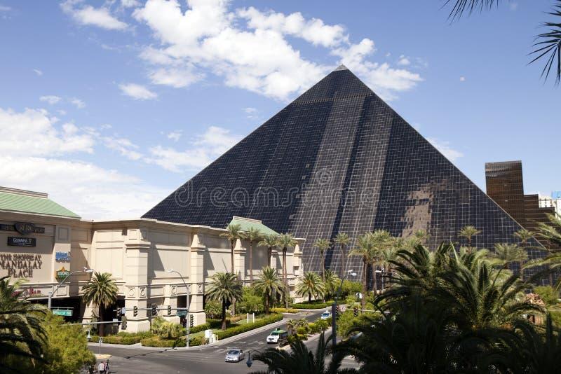 Luxorhotel en Casino - Las Vegas, Nevada stock afbeeldingen