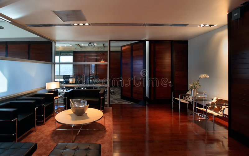 Luxueus bureau 2 stock fotografie