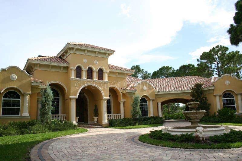 Luxueus huis - royalty-vrije stock foto