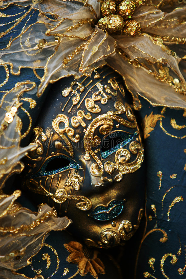 Luxueus masker royalty-vrije stock afbeeldingen