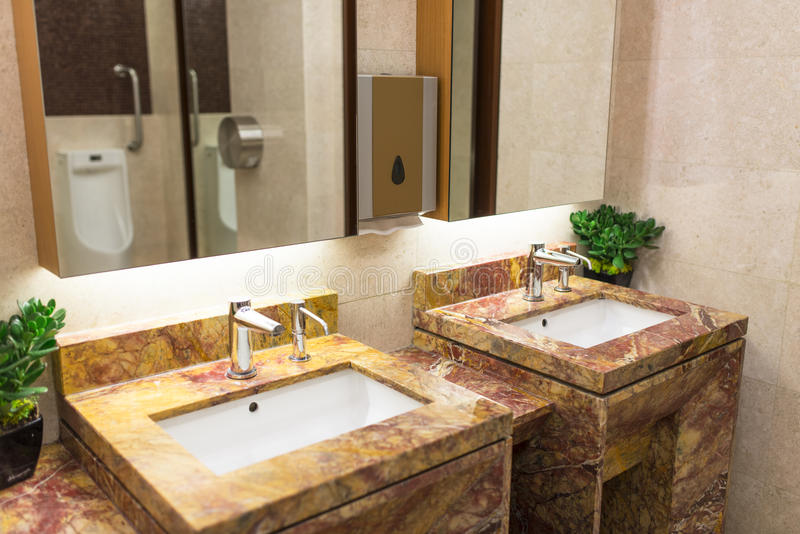 Luxueus Toilet royalty-vrije stock fotografie
