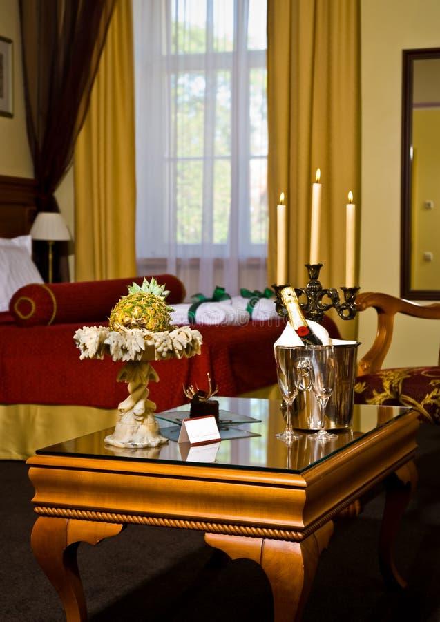 Luxueuze hotelreeks stock afbeelding