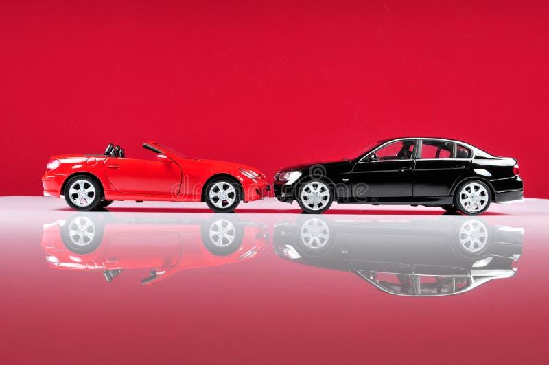 Luxuriöse Autos stockfotografie