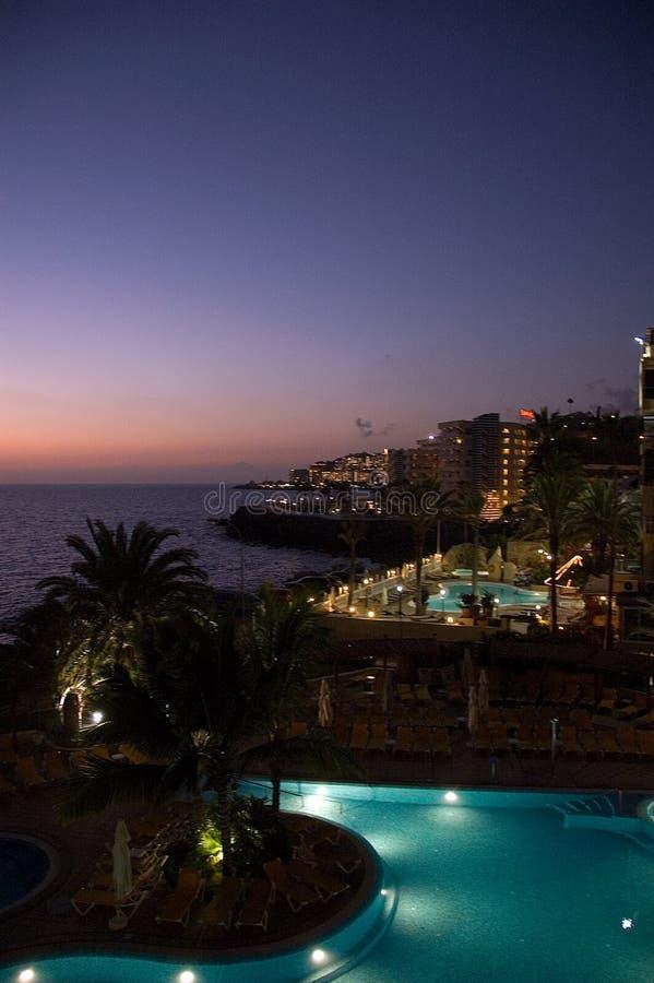Luxuriöse Rücksortierung Gran Canaria stockfotografie