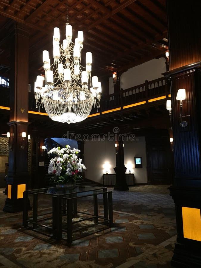 Luxuriöses Foyer stockfotos