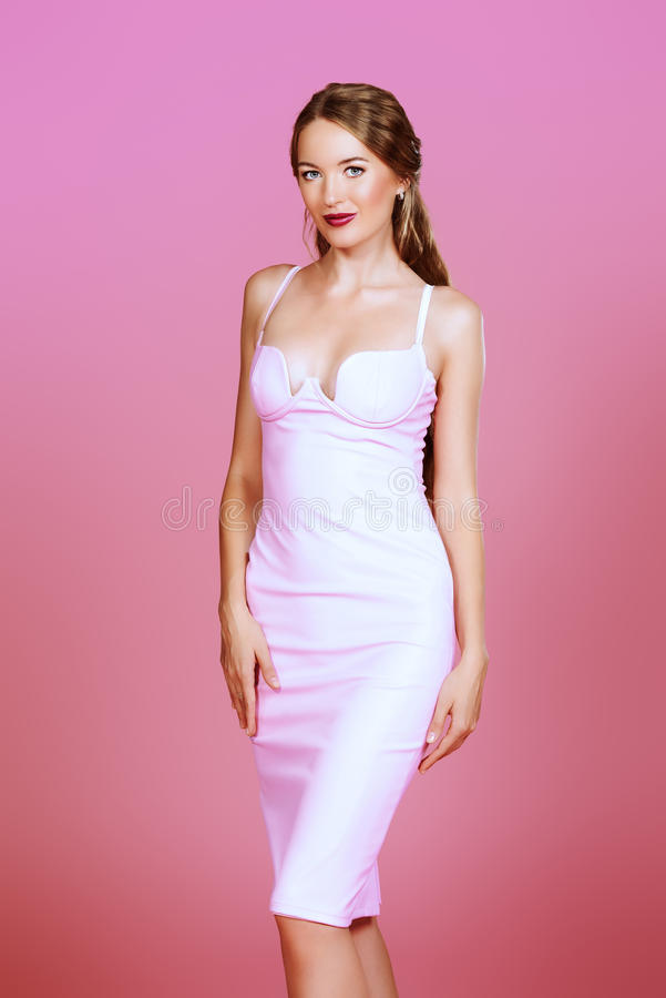 Luxuriöses Rosa stockbilder