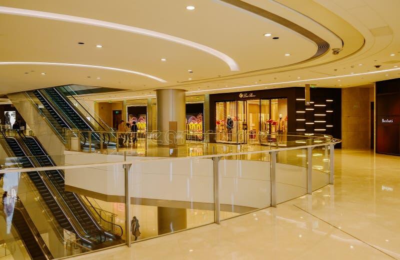 Luxuries shop at IFS plaza,Chengdu. Shops selling luxuries at IFS plaza,Chengdu,China royalty free stock photo