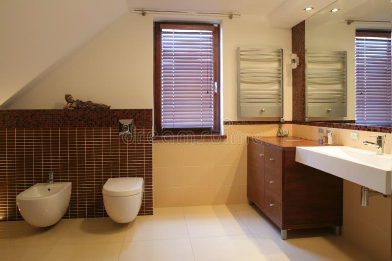 Luxurious bathroom royalty free stock image