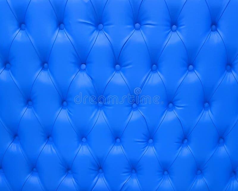 Luxurious Blue Upholstry Background Pattern stock image