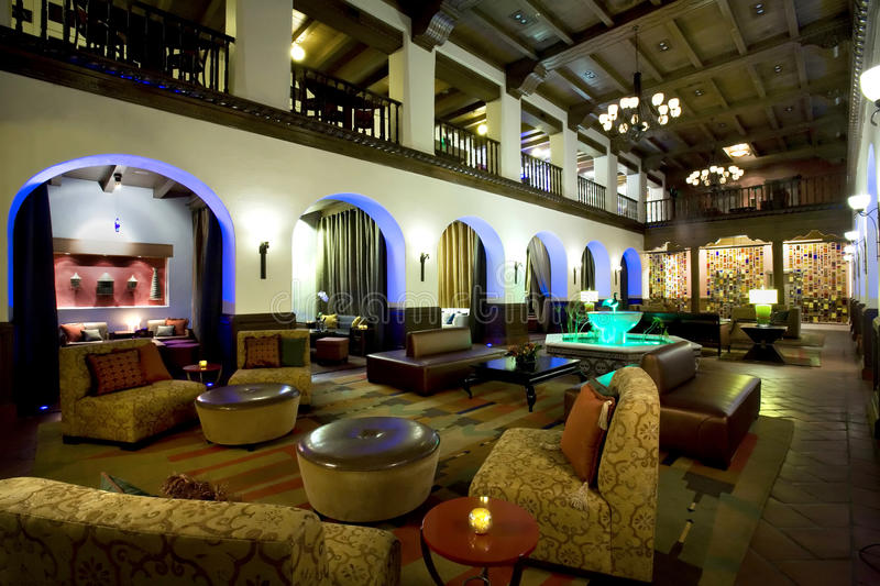 Download Luxurious Boutique Hotel Lobby Stock Images - Image: 12644644