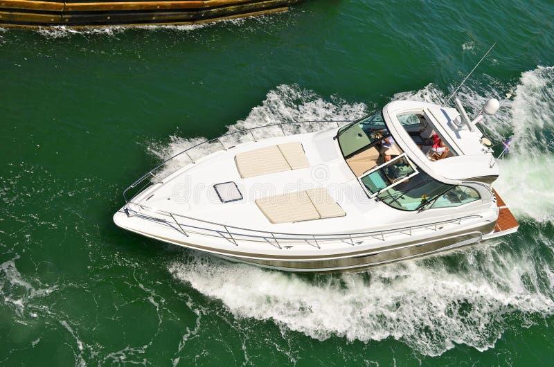 Download Luxurious Cabin Cruiser stock image. Image of cruiser - 25059329