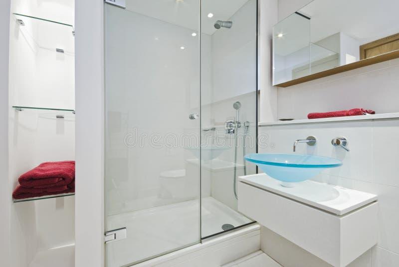Luxurious en-suite royalty free stock photos