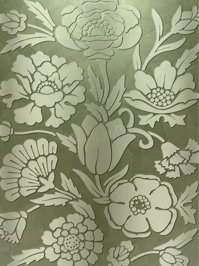 Luxurious floral print background royalty free stock image
