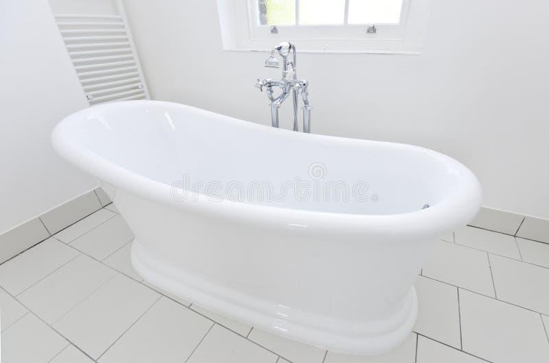 Luxurious free standing bathtub detail royalty free stock image