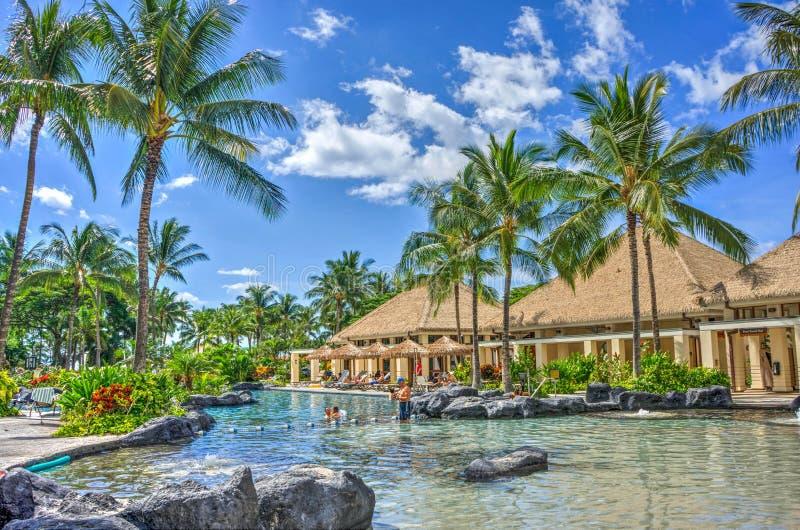 Luxurious holiday resort royalty free stock photos