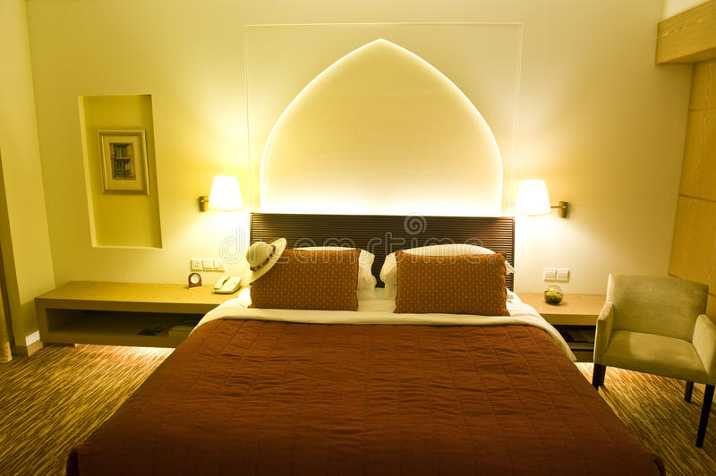 Download Luxurious hotel room stock photo. Image of lifestyle, business - 9647414