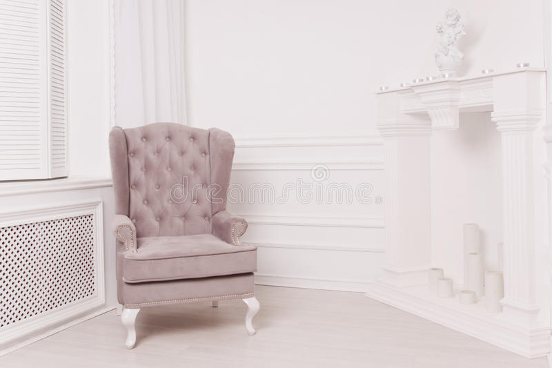 A luxurious interior in the vintage style royalty free stock images