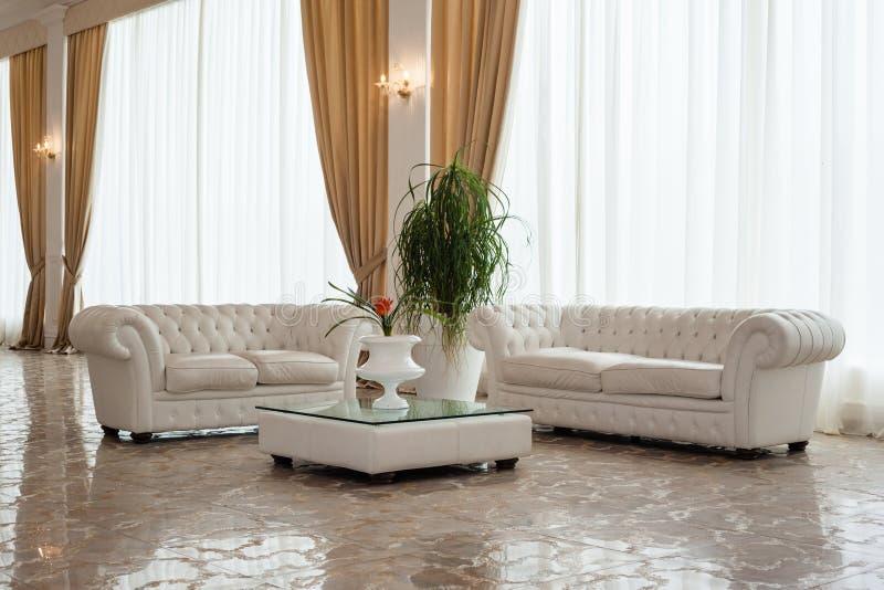 Luxurious living stock image