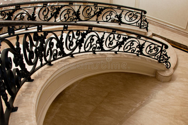 Download Luxurious Marble Stairway stock image. Image of wall - 19246735